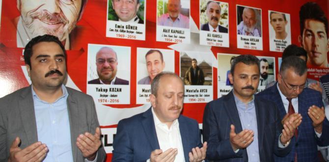 AK Partiden Çorumlu Şehitlere Vefa