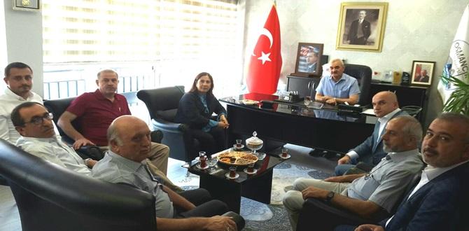 Osmancık Esnafının Sorunları Görüşüldü
