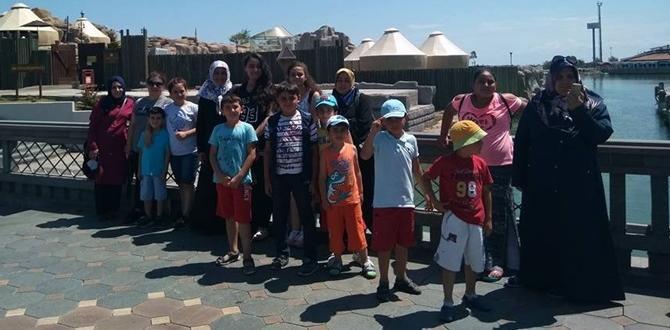 Çocuklar Samsun'u Gezdi