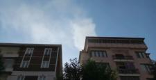 Apartman Boşluğundaki Yangın Korkuttu