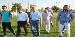 Külcü'den, Futbolculara Moral Ziyareti