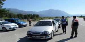 Jandarma ve Polisten Ortak Trafik Uygulaması