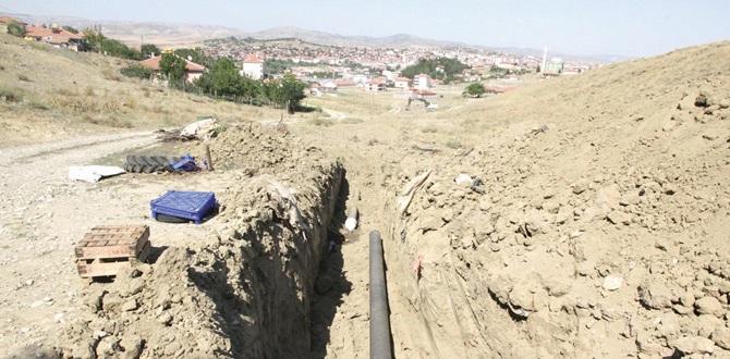 Sungurlu'da Altyapı Çalışmaları Devam Ediyor