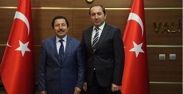 Alkan'dan Başkanlıoğlu'na Ziyaret