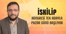 AK Parti İskilip İlçe Başkanlığına Tek Aday