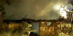 Samanlıkta Çıkan Yangın Korkuttu