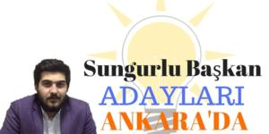 Aday Adayları Mülakat İçin Ankara'da