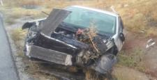 Bu Otomobilden Burnu Kanamadan Çıktı