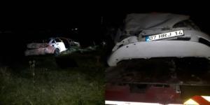Kargı'da Korkunç Kaza