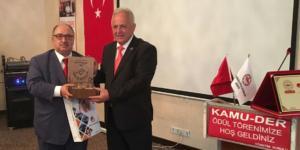 Ateş'e,En Başarılı Belediye Başkanı Ödülü