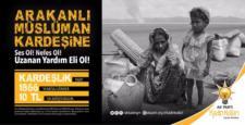 AK Kadınlardan, Arakan İçin SMS Kampanyası