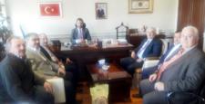 Müsteşar Uzun'a Hemşehri Ziyareti