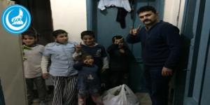 Ülkü Ocakları'ndan Türkmenlere Yardım