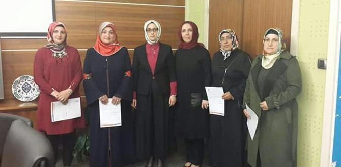 İlçe Kadın Kolları Başkan Adayları Belirlendi