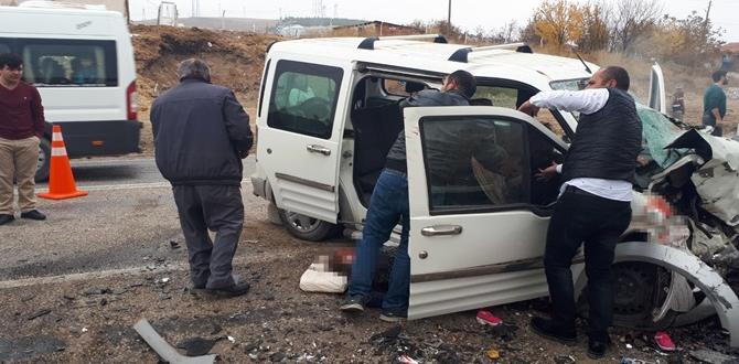 1 Kişi Öldü 5 Kişi Yaralandı
