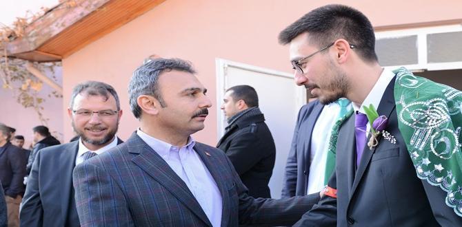 Mustafa Kalın, Kasım Enes'i Evlendirdi