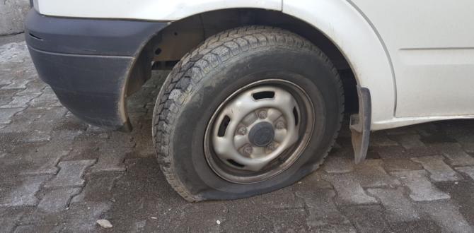 Araçların Lastikleri Yine Kesildi