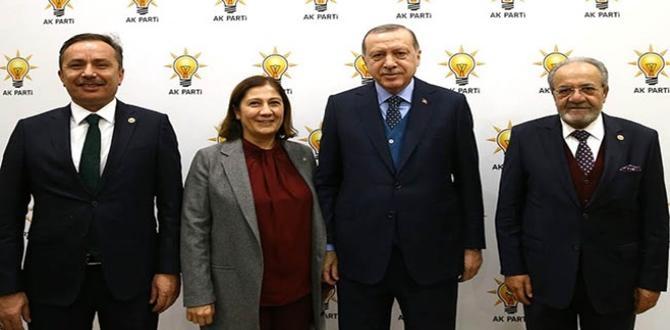 Cumhurbaşkanı Çorum Milletvekilleriyle Buluştu