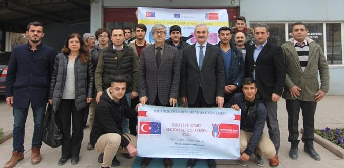Öğrenciler Yurtdışına Gidiyor