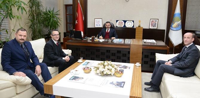 Başhekimden Başkan Külcü'ye Ziyaret