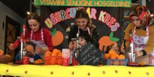Uğurcuklardan C Vitamini Şenliği