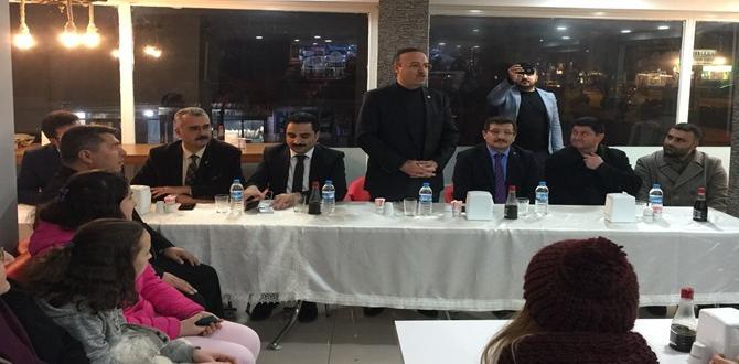 Ulukavak Mahallesi'nde AK Parti Coşkusu