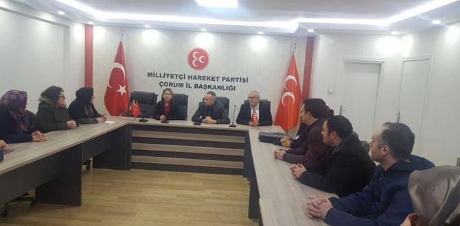 Taşeron Mağdurları MHP'den Destek İstedi