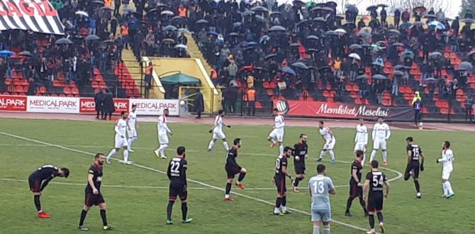 Utaş Uşakspor A.Ş.: 4 Çorum Belediyespor: 3