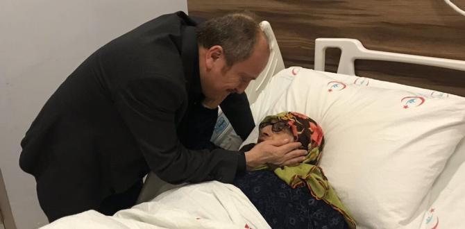 Karadağ, Hastaların Duasını Aldı