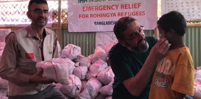 Arakan'a Yardımlar Ulaştırıldı