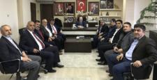 Ziraat Odası Başkanlarından Karadağ'a Ziyaret
