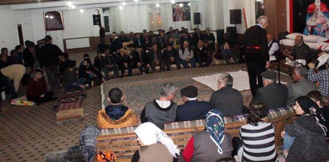 Düdüklük Bekaroğlu Köyü'nden Birlik Cem'i