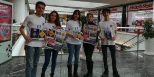 Lise Öğrencilerinden 'Akran Zorbalığı' Projesi