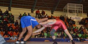 Çorum'da Güreş Şampiyonası Başladı