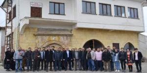 Üniversiteliler Elvan Çelebi'yi Gezdi
