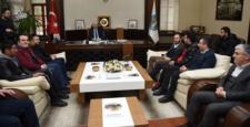 Cumhurbaşkanı Gül'e Belediyesporu Sordu