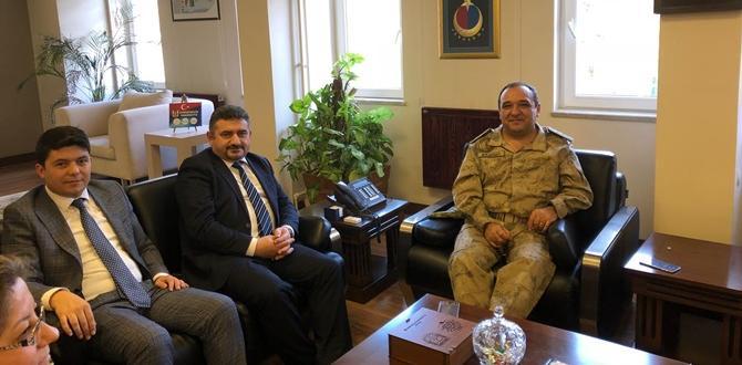 CHP'den Albay Başbuğ'a Ziyaret