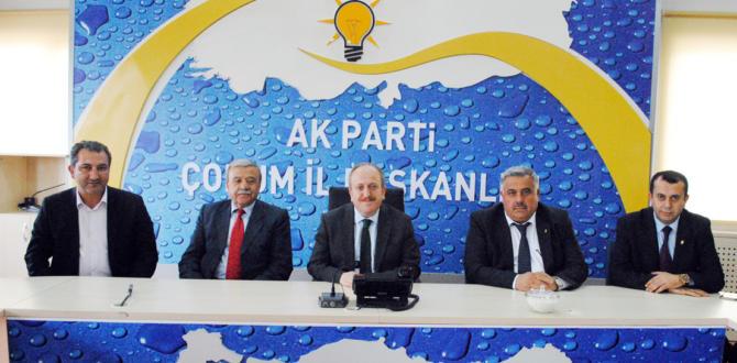 Gür'den Siyasi Partilere Nezaket Ziyareti