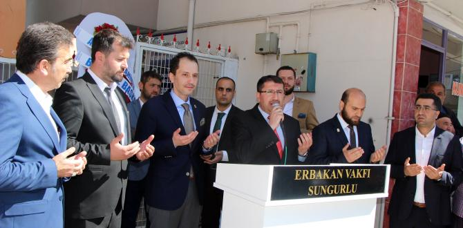 Sungurlu'ya Erbakan Vakfı Açıldı