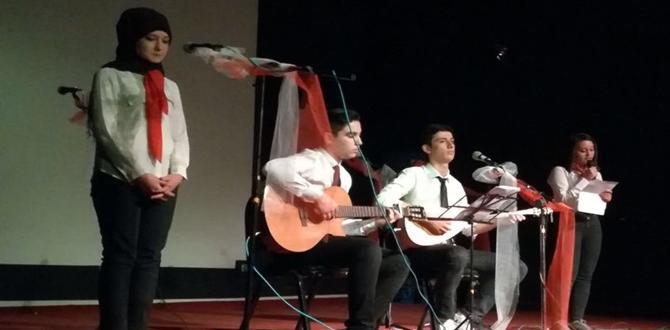 Öğrenciler Tiyatro Dalında Yarıştı