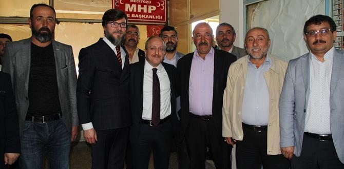 Karadağ, Seçim Startını Mecitözü'nde Verdi