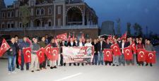 Şehit Halisdemir İçin Ankara'ya Gittiler