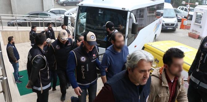 21 Kişi Gözaltına Alındı