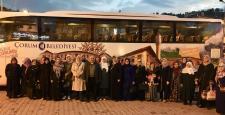 Bayat Belediyesi Çanakkale'ye Götürüyor