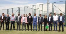 Yeni Yönetim Yeni Tesis ve Stadı Gezdi