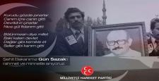 'Gün Sazak Örnek Devlet ve Siyaset Adamıydı'