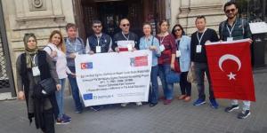 Mesleki Bilgi İçin İspanya'ya Gittiler