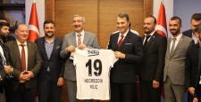 Beşiktaş Başkanı Fikret Orman Çorum'a Geldi