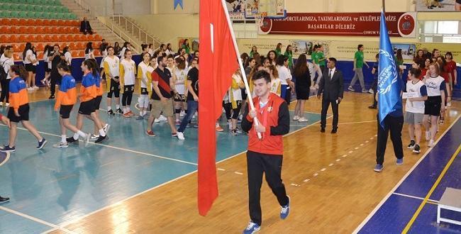 Çorum'da Türkiye Şampiyonası Başladı