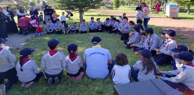 FSM  İzcileri Anne Çocuk Kampı Yaptı